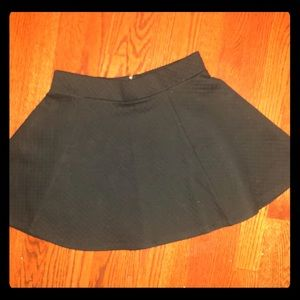 H&M Black above the knee skirt - mini flair